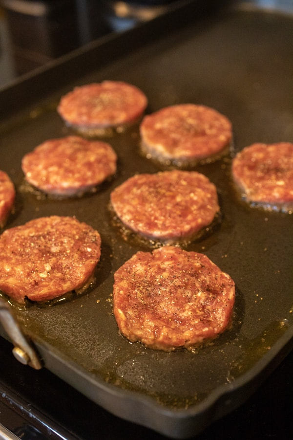Sausage Patties for breakfast sandwiches