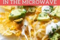 Microwave Nachos