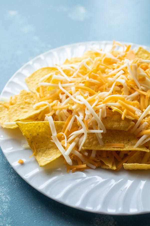 Cheese for microwave nachos