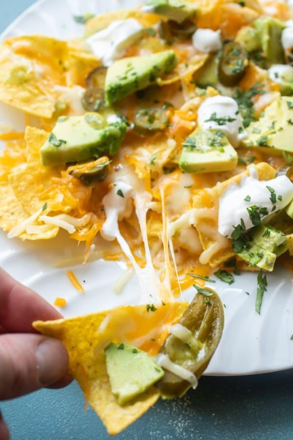 Microwaving perfect nachos