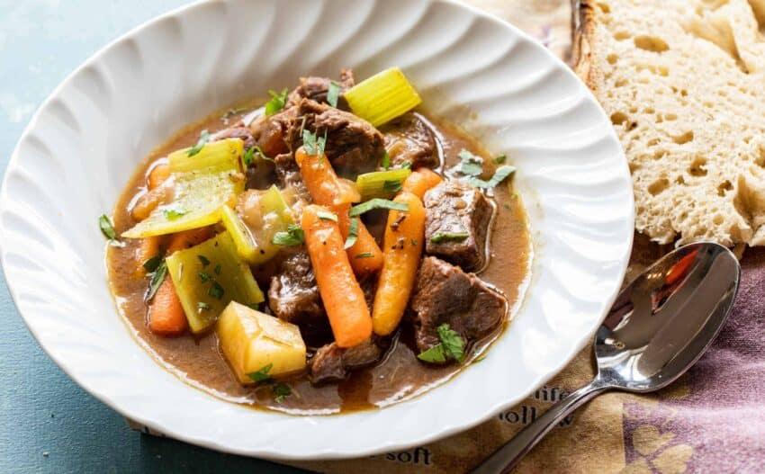 Beer Braised Beef Stew