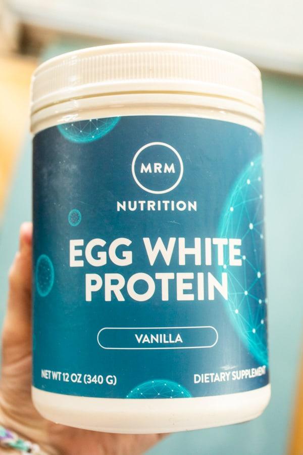 Egg White Protein for bars
