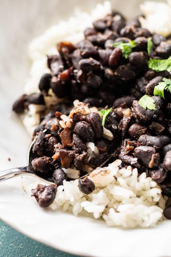Pressure Cooker Cuban Black Beans