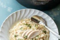 Rotisserie Chicken Risotto