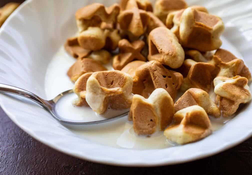 Crispy Waffle Cereal