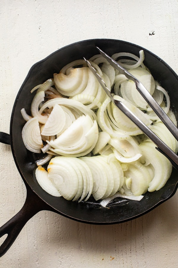 Starting Caramelized onions for sausage dogs