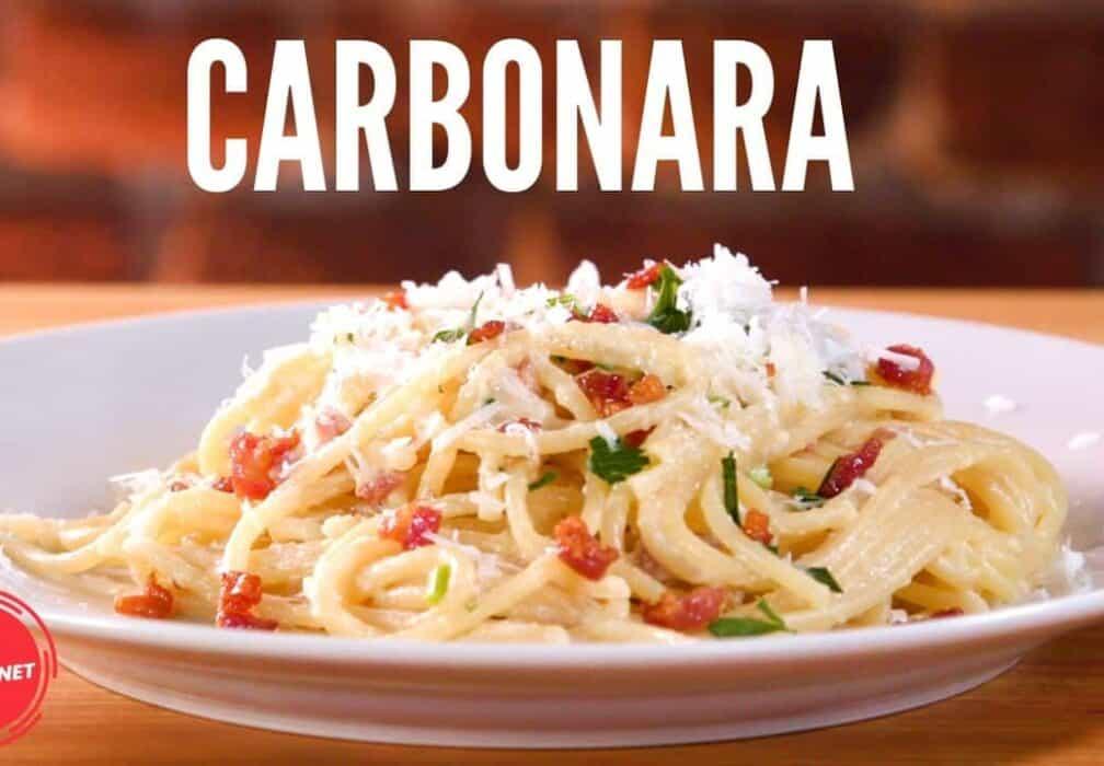Homemade Carbonara - The Dinnernet