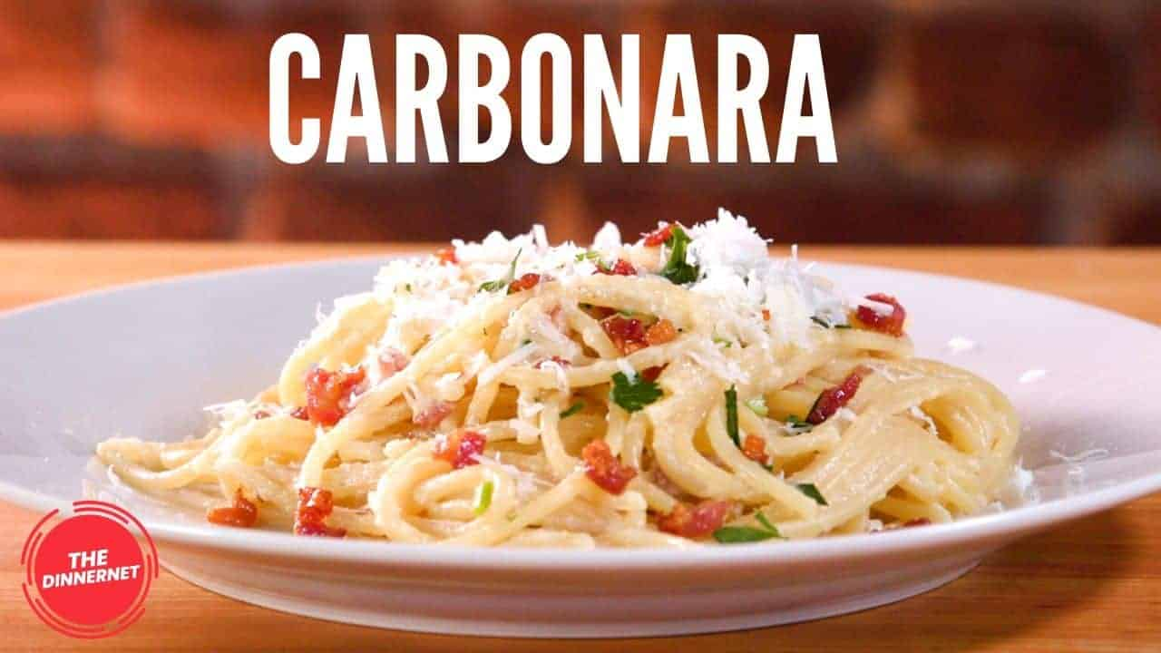 Homemade Carbonara - The Dinnernet