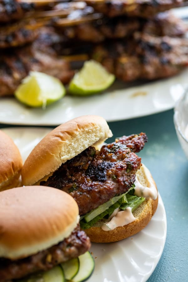 Pork Meatball Sliders