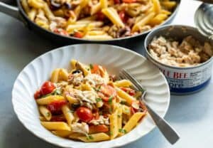 Weeknight Penne Puttanesca