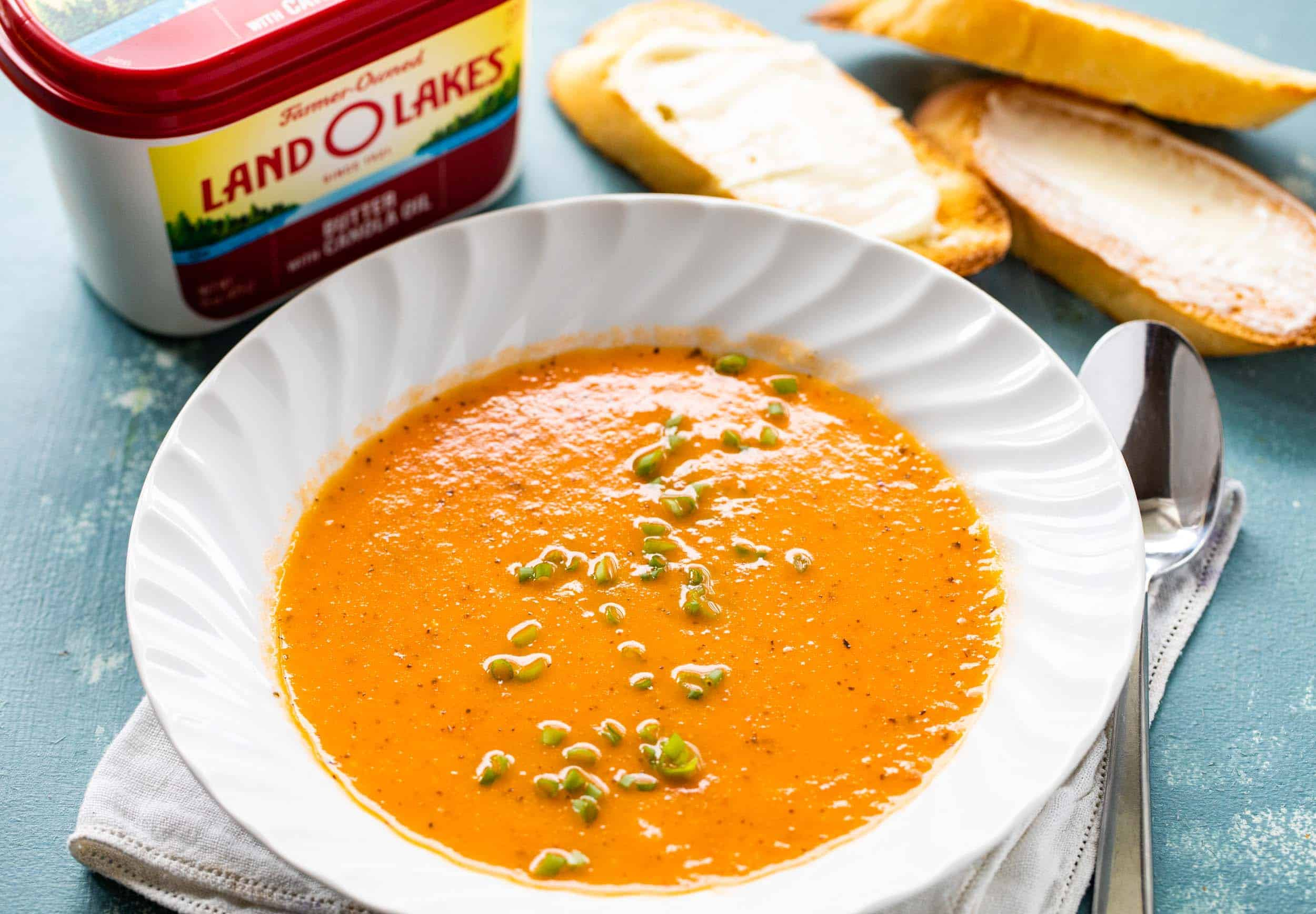 Buttery Tomato Soup