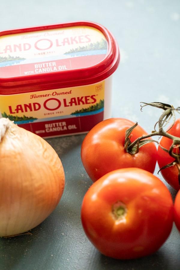 Tomato Soup Basic Ingredients