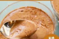 Banana Cocoa Pudding