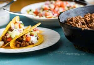 Lamb Hard Tacos