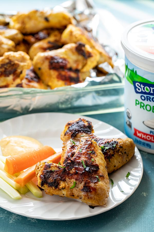 Grilled Yogurt Chicken Wings