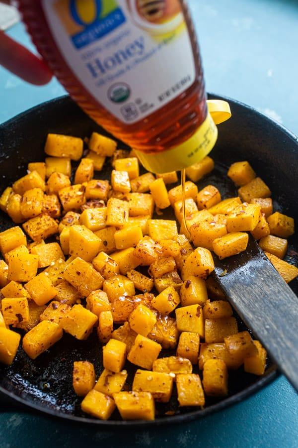 Honey to breakfast skillet