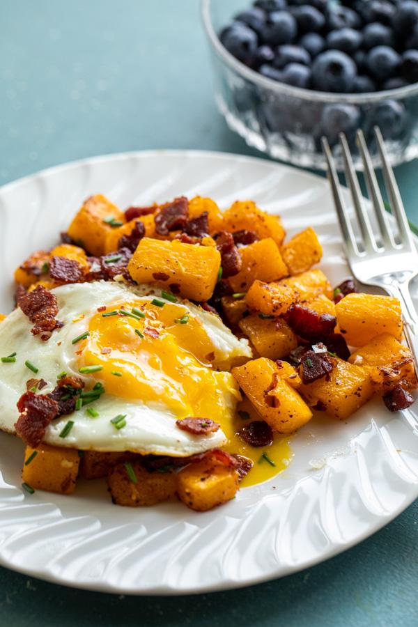 Honey Bacon Breakfast SKillet