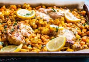 Sheet Pan Tandori Chicken