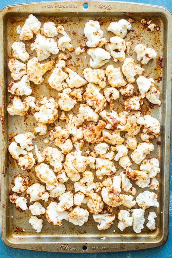 Ready to roast cauliflower