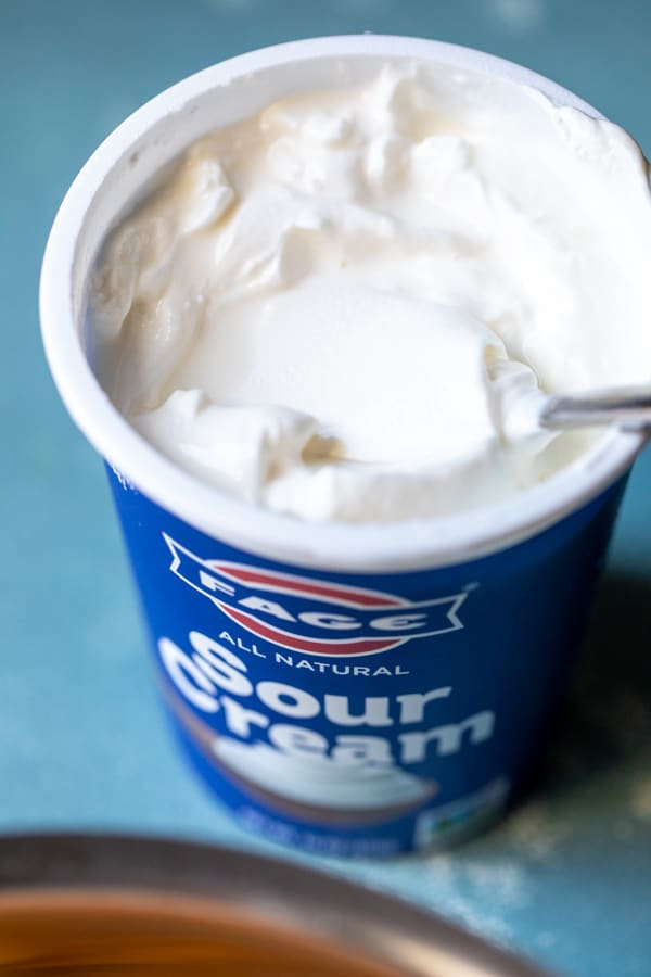 FAGE Sour Cream for baked dip