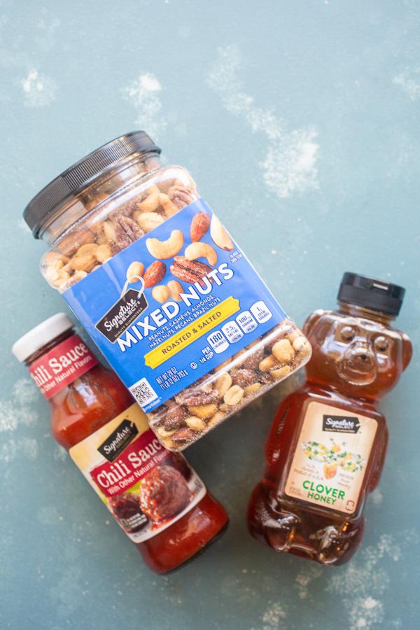 Basics for Honey Chili Snack Mix