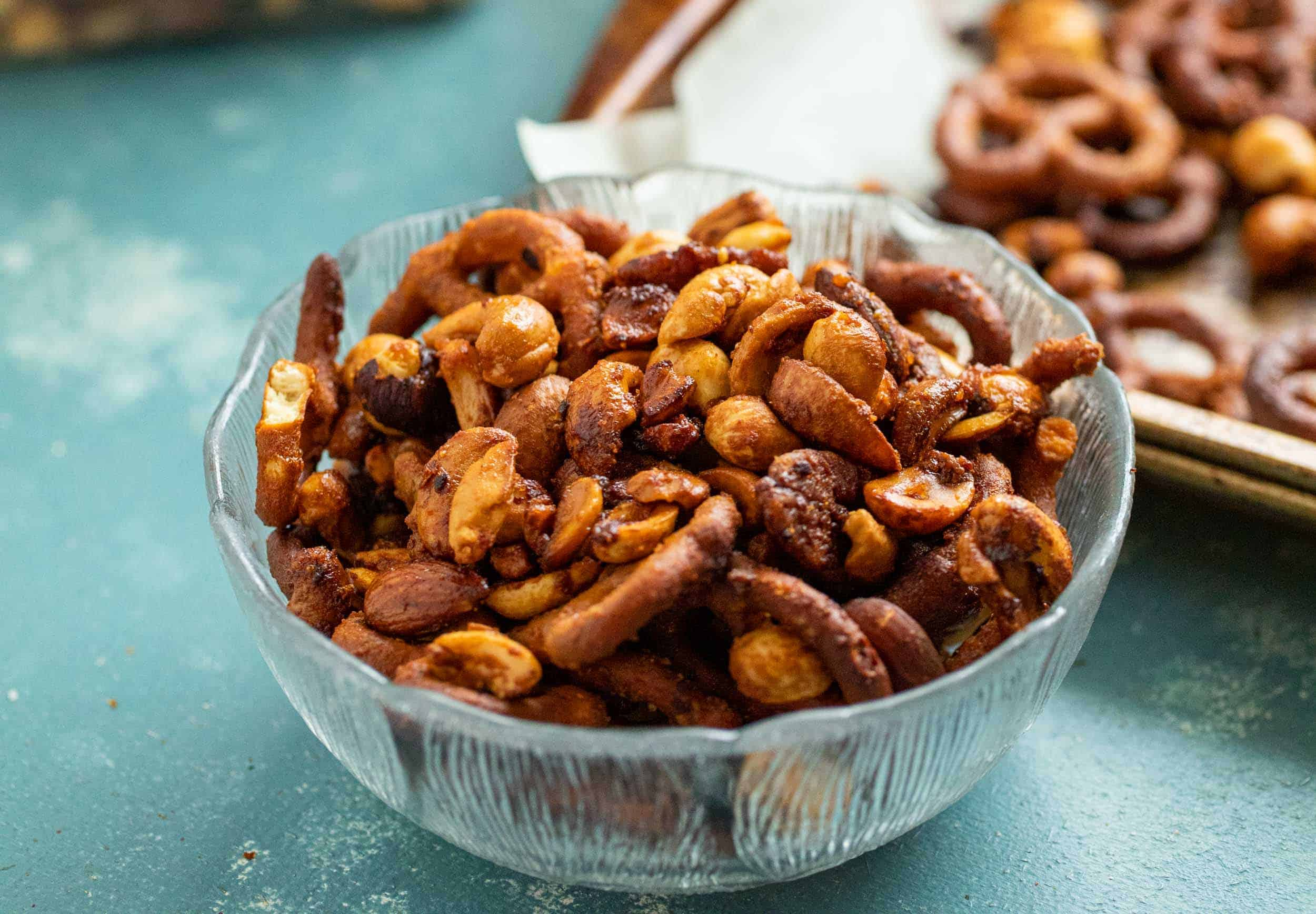 Honey Chili Snack Mix