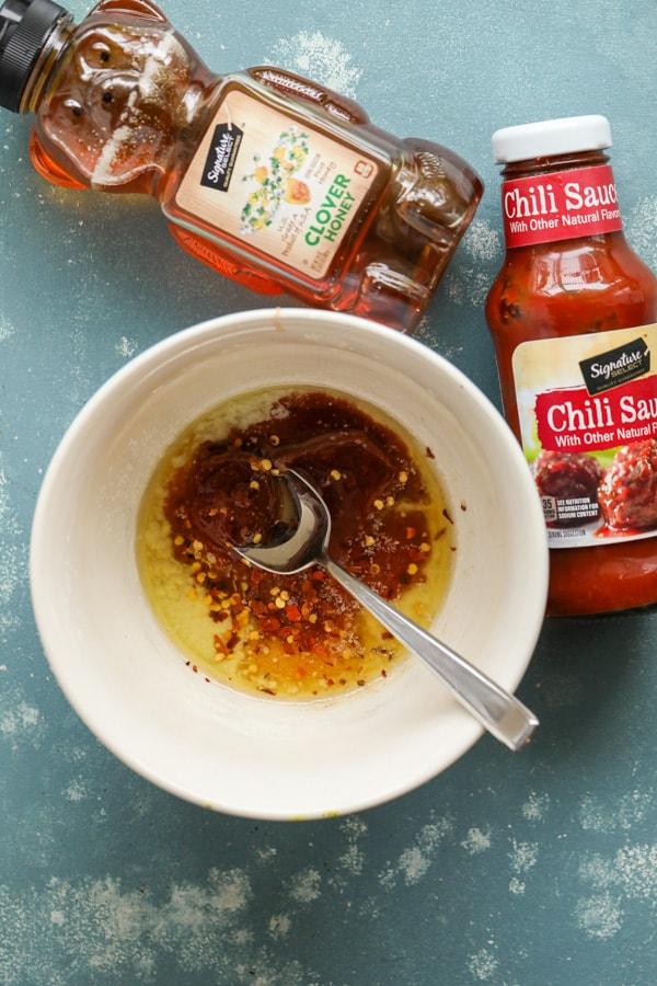 Honey Chili Sauce for Snack Mix