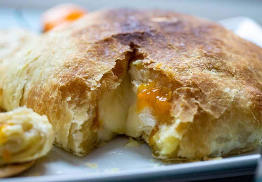 Mango Habanero Baked Brie