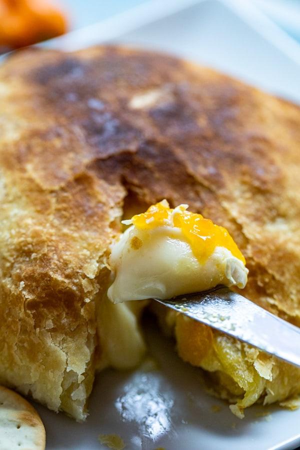 Habanero Baked Brie