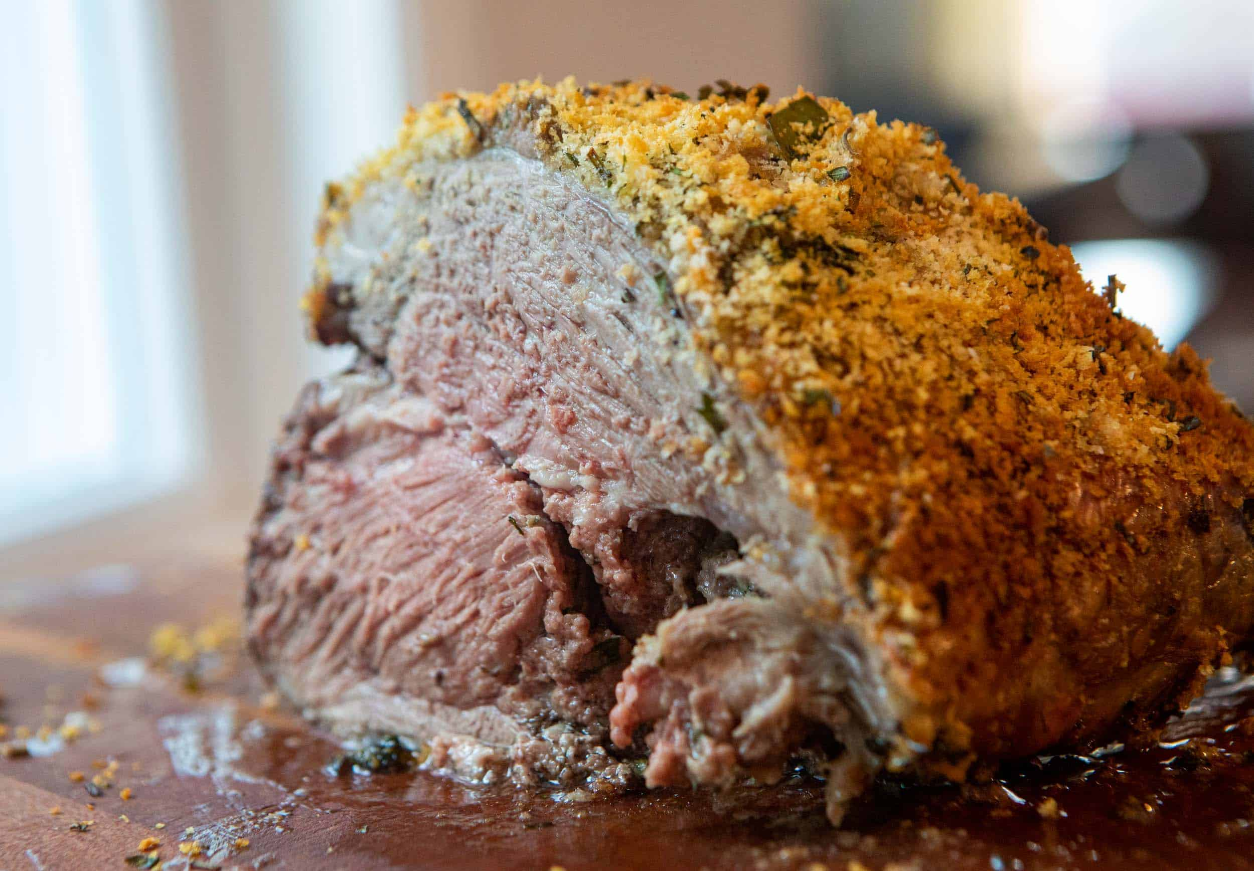 Panko Leg of Lamb