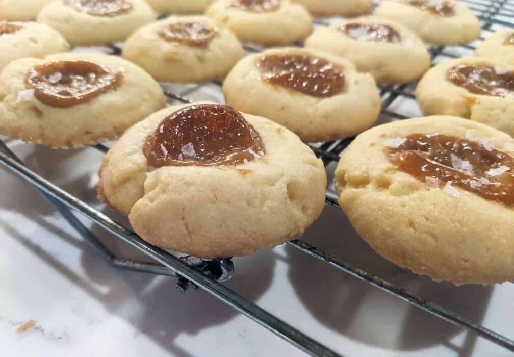 Salted Dulce de Leche Cookies