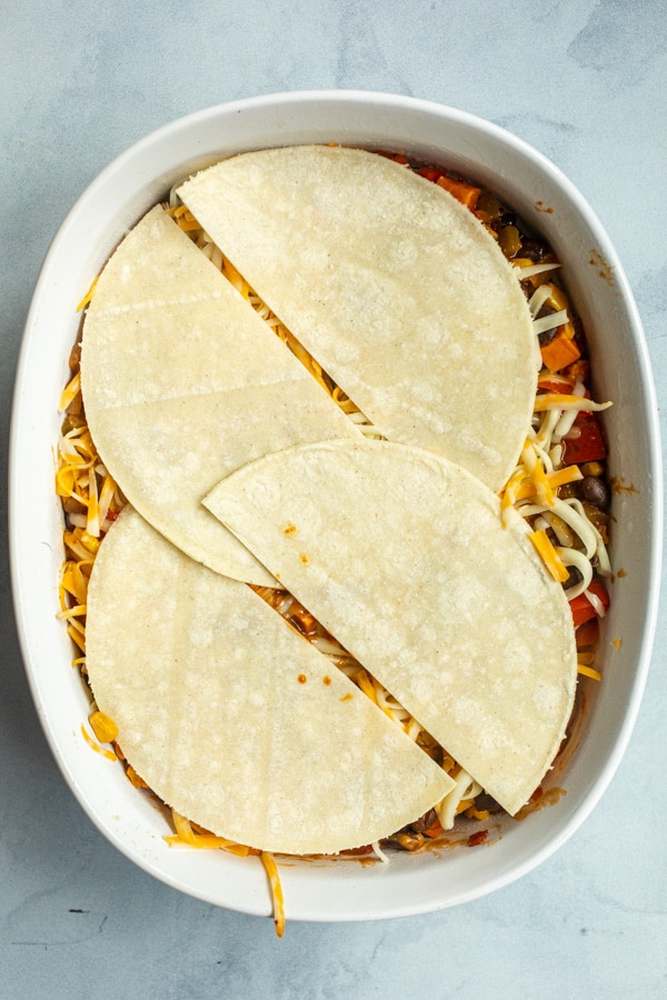 Ready to bake enchilada casserole