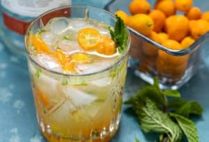 Kumquat Mojito