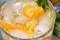 Kumquat Mojito with Mint