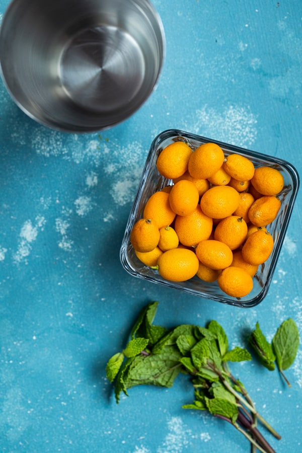 Kumquats and Mint