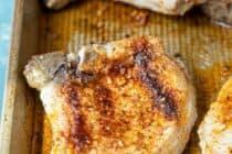 Easy Broiled Pork Chops