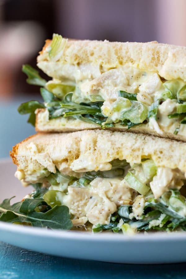 Ultimate Chicken Salad Sandwich
