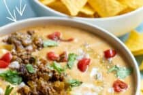 Easy Beef Queso