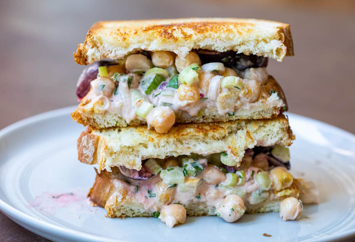 Curried Chickpea Sandwiches