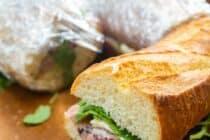 Ultimate Picnic Sandwich on Fresh Baguette