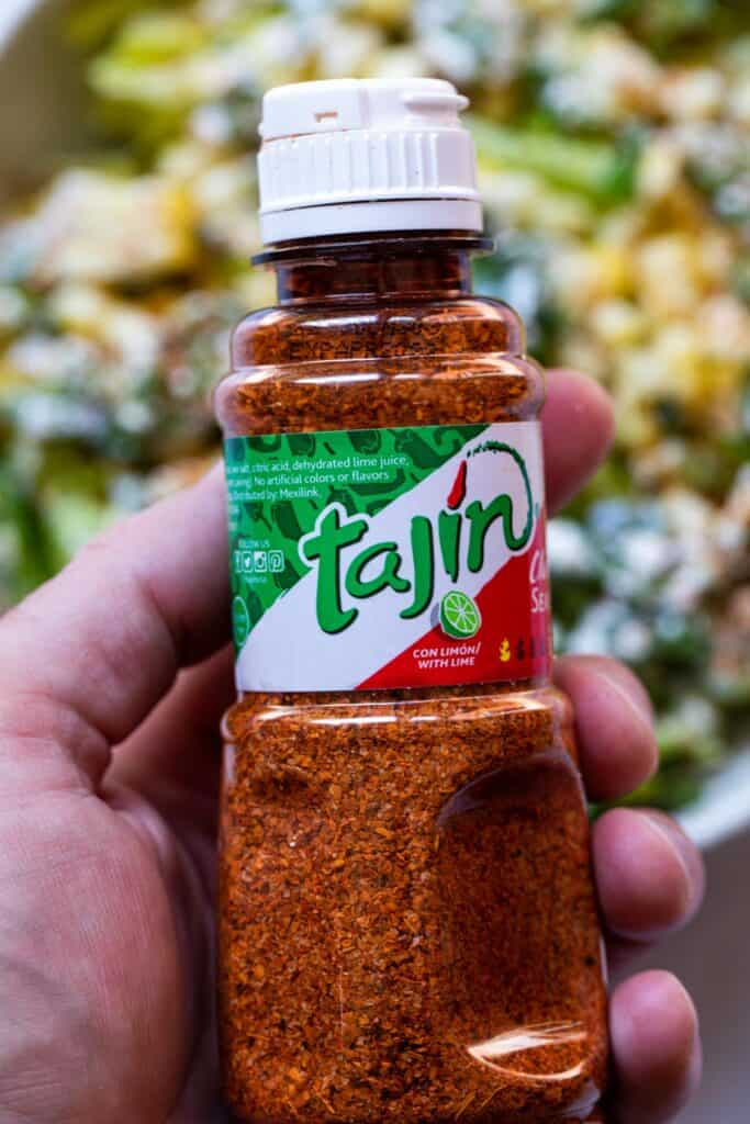 Tajin seasoning for corn.