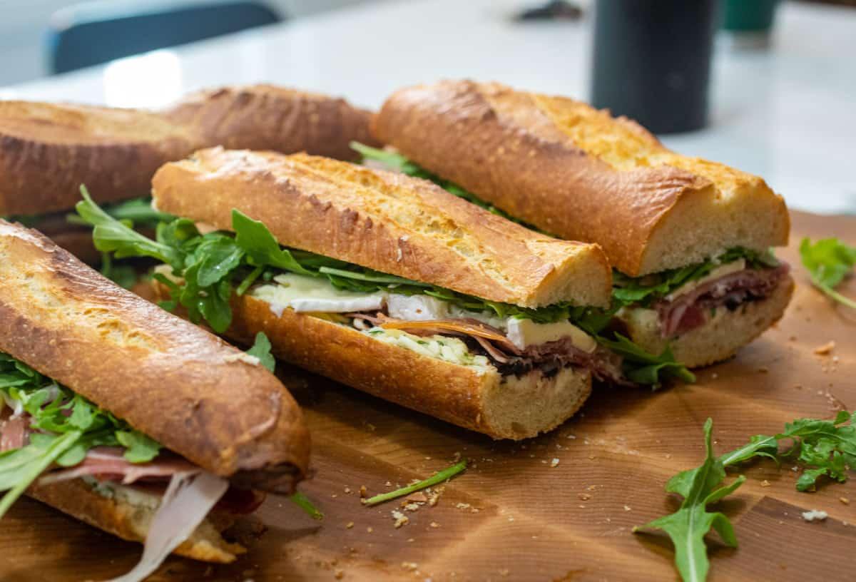 Ultimate Picnic Sandwich