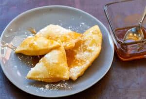 Sopapillas with Hot Honey